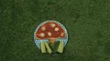 Tortilla paddenstoel maken