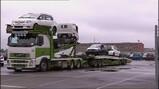 De autotransportwagen