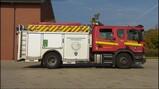 De brandweerauto