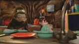 Moffel en Piertje zingen een Sinterklaasliedje