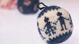 Kerstballen breien