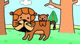 The colour brown: Een animatie over de kleur bruin in het Engels