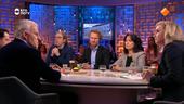 Jan Jaap van der Wal, Saskia Belleman, Peter R. de Vries, Donatello Piras en Roderik van Grieken.