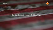 De aankomst van de vlag van D-Day