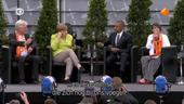 Kirchentag Berlijn met Obama en Merkel