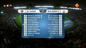 NOS WK Voetbal clubteams 1ste helft Real Madrid -Al-Jazira