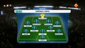 NOS WK Voetbal clubteams 1ste helft Real Madrid