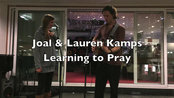 Afbeelding van Joal en Lauren Kamps-Learning to Pray