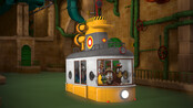 Ziggy en de Zootram Tram op de vlucht