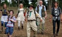Vader met vier kinderen: terug naar de natuur
