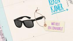 De Rekenkamer in de klas: Wat kost een zonnebril?