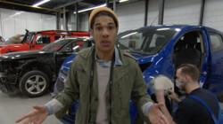 Hoe wordt autoschade hersteld?: Schuren, vijlen en spuiten
