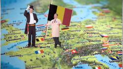 België in het kort: Vlamingen, Walen en frieten