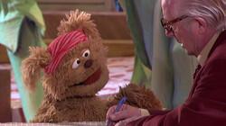 Het vriendenboekje van Tommie: Stukje uit Sesamstraat