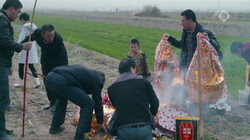 Door het hart van China in de klas: Dood en begraven in China
