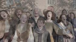 Het is beeldenstorm!: Liedje over vernielingen in de katholieke kerk