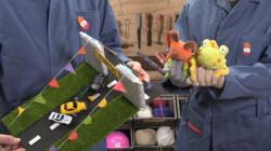 Hoppatee!: Hoe maak je een surprise van oud speelgoed?
