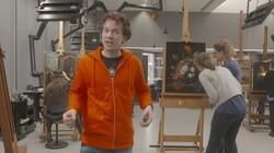 Het Klokhuis: Schilderijrestauratie