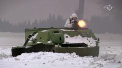 Van Moskou tot Moermansk in de klas: Soldaat in het Russische leger
