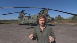 Het Klokhuis: Transporthelikopter