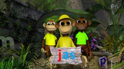 Letterjungle: De letter j: jas
