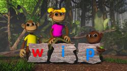 Letterjungle: De letter w: wip