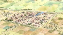 Het ontstaan en de inrichting van Nederland : Romeinse centra en steden
