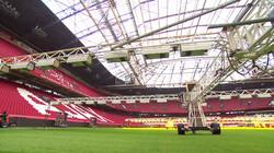 Hoe onderhoud je voetbalgras?: Zo blijft het gras in de Johan Cruijff Arena in topconditie