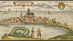 Het ontstaan en de inrichting van Nederland : Havens en damsteden in de middeleeuwen