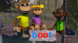 Letterjungle: De letter oo: boot