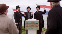 Lied: de Afsluitdijk: 30 kilometer dijk tussen Waddenzee en IJsselmeer
