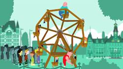 Vroeger werd een reuzenrad met de hand rondgedraaid: Is het snugger of kletspraat?