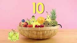 Fruit op Tafel: De tafel van tien
