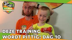 Met Nathan Rutjes en zoon Lavezzi: Workout voor thuis: Dag 10