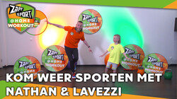 Met Nathan Rutjes en zoon Lavezzi: Workout voor thuis: Dag 13