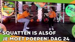 Met Steven Brunswijk & Jaelynn: Workout voor thuis: Dag 24