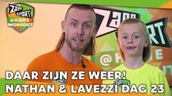 Met Nathan Rutjes en zoon Lavezzi: Workout voor thuis: Dag 23
