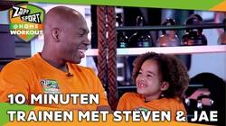 Met Steven Brunswijk & Jaelynn: Workout voor thuis: Dag 33