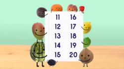 Fruit op Tafel: Tellen tot en met twintig