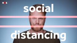 Waarom helpt social distancing tegen corona?: Afstand houden verkleint de kans op verspreiding