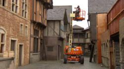 Hoe wordt een filmdecor gebouwd?: Een oude stad nagemaakt
