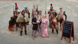 Vermaak in het Colosseum: Gewelddadig entertainment voor het hele gezin