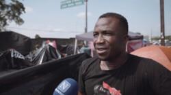 Het illegale vluchtelingenkamp in Tapachula, Mexico: Vluchtelingen uit Afrika willen naar de Verenigde Staten