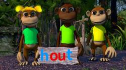Letterjungle: De letter ou: hout