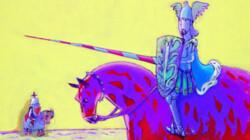 Ridder Florian op een toernooi: Voorleesverhaaltje uit Sesamstraat