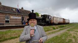 De eerste Nederlandse spoorlijn: Voor het eerst met de trein