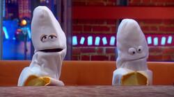 Bert en Bob zitten in alle bananenmoppen: Te gast in De Boterhamshow