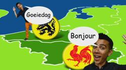 België is tweetalig: De geschiedenis in een notendop