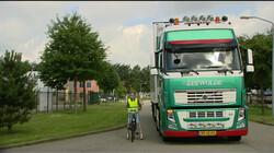 Hoe stel je je veilig op naast een vrachtwagen?: Zie jou, zie mij