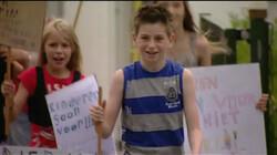 Veilig naar school: Deze kinderen voeren actie!